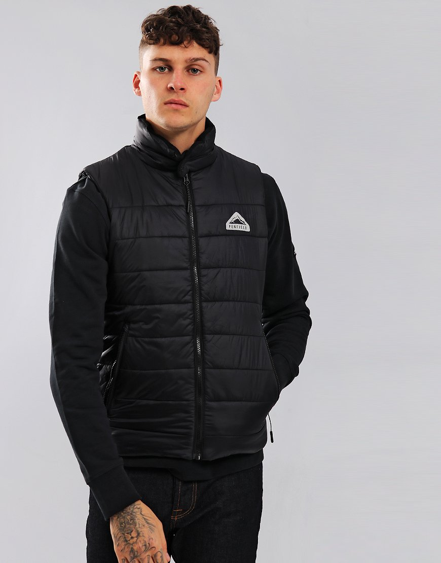 Penfield Marsden Gilet Black