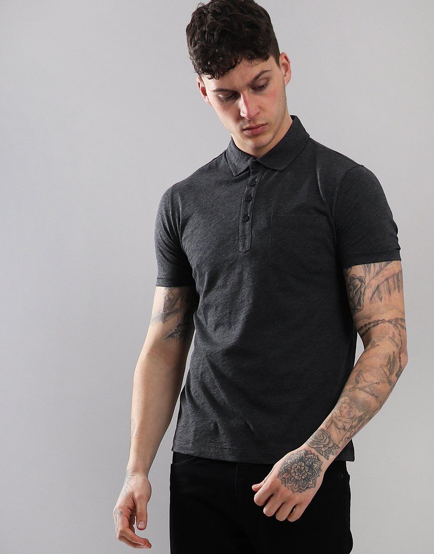 Penguin Bing Polo Shirt Charcoal