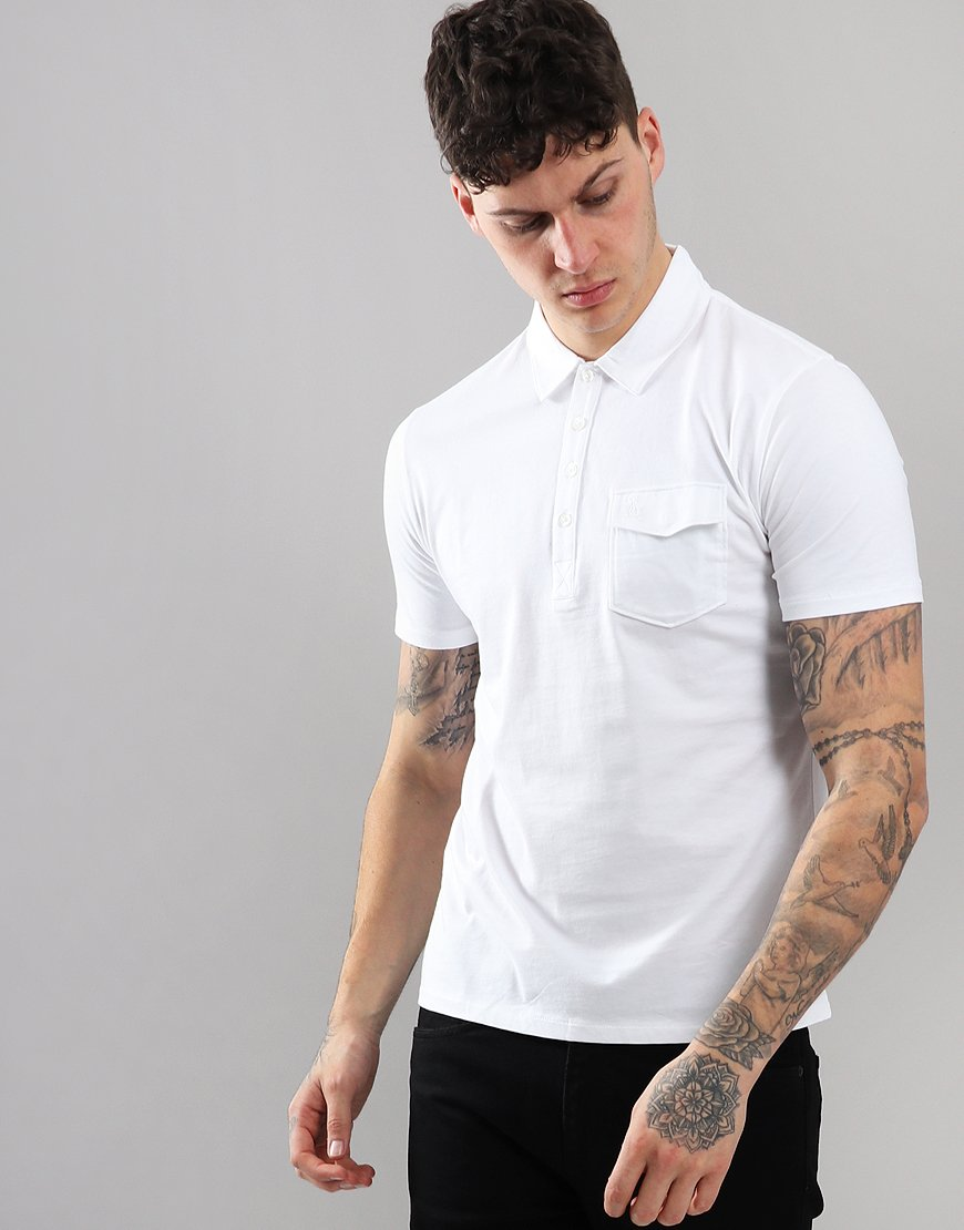 Penguin Jack 2.0 Polo Shirt Bright White