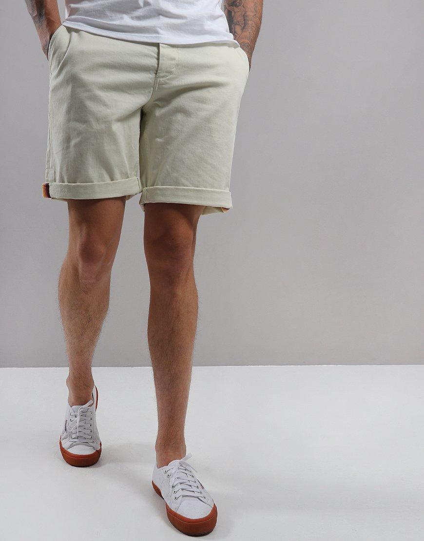 Pretty Green Chino Shorts White
