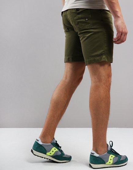 Pretty Green City Shorts Khaki