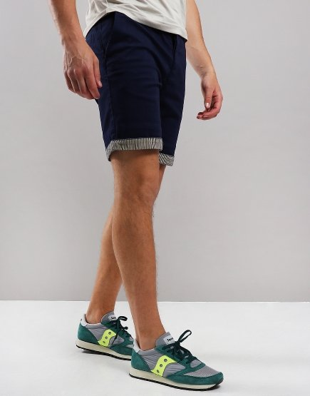 Pretty Green City Shorts Navy