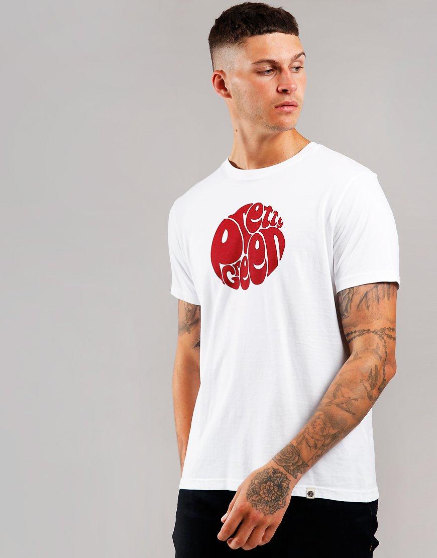 Pretty Green Logo T-Shirt  White