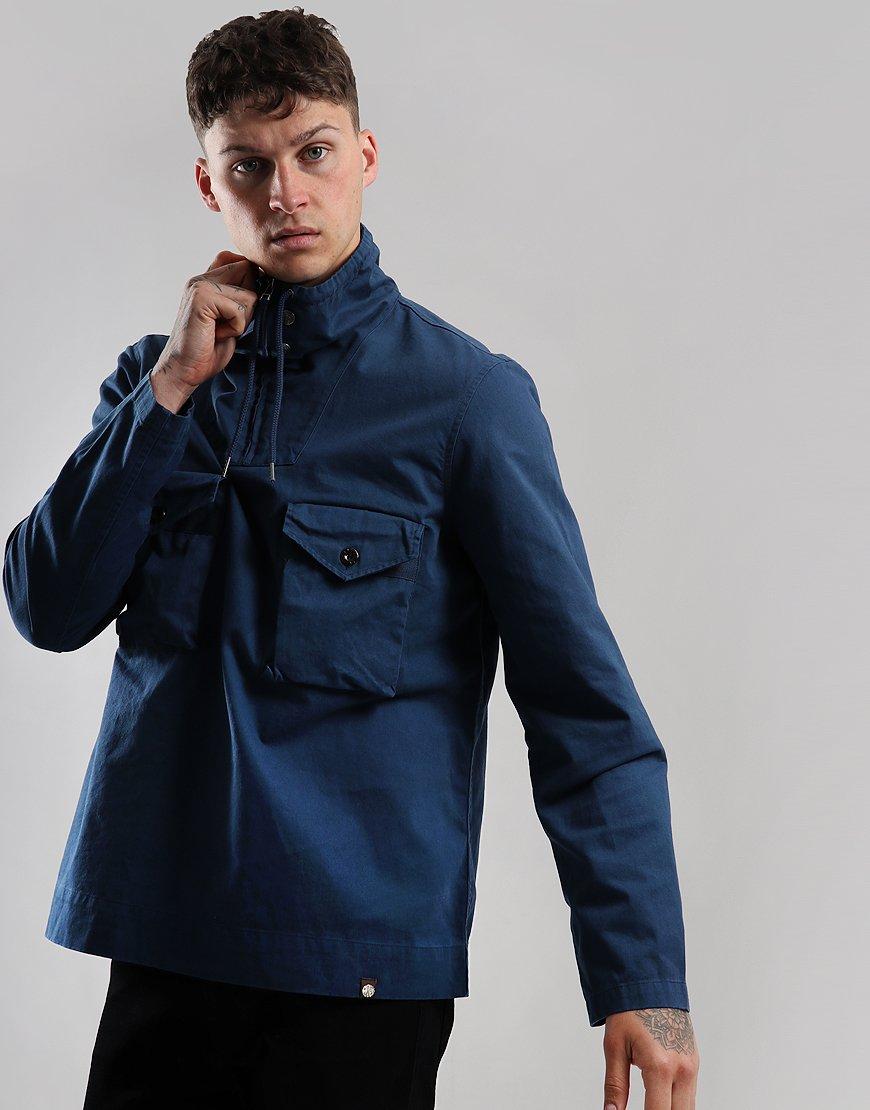 Pretty Green Overhead Pocket Jacket Blue