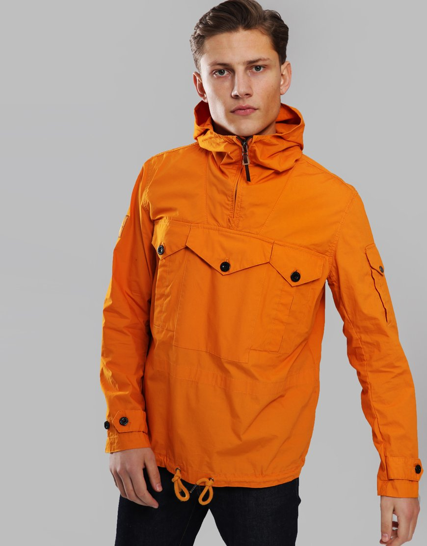Pretty Green Overhead Pocket Detail Jacket Orange