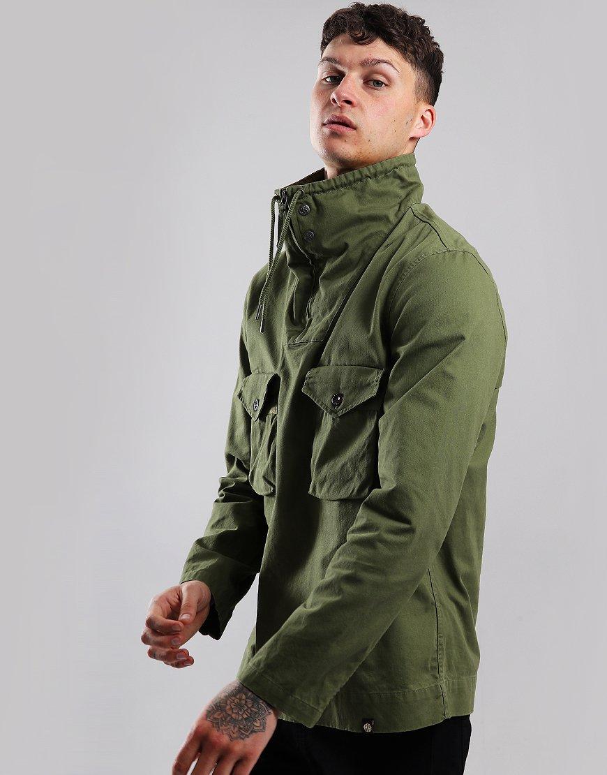 Pretty Green Overhead Pocket Jacket Olive