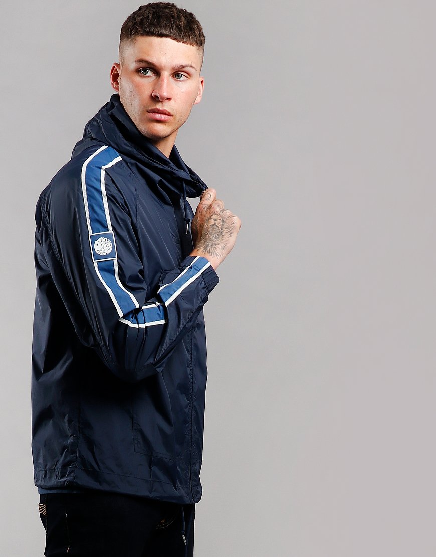 Pretty Green Zip Through Jacket Blue