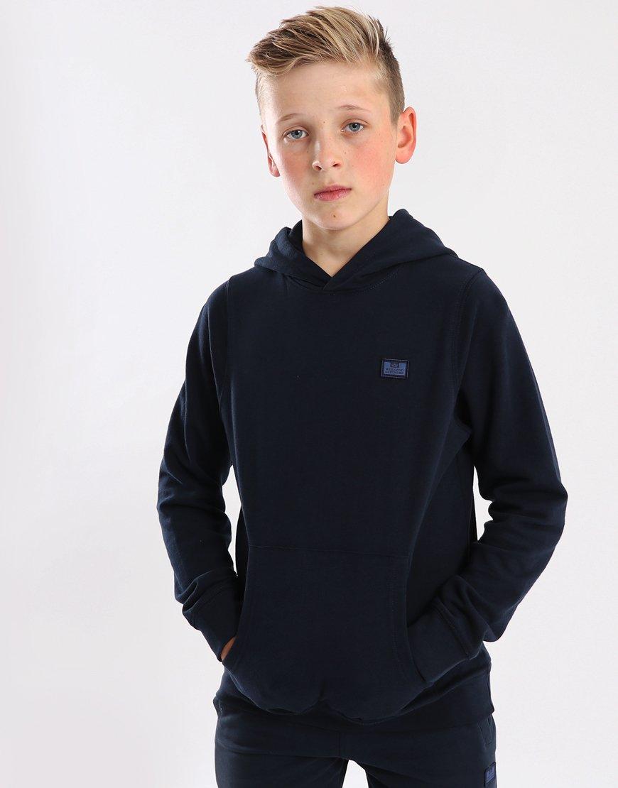 Weekend Offender Kids Radcliffe Overhead Hoodie Navy