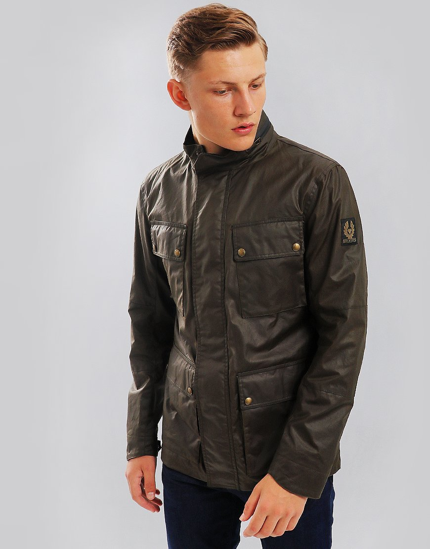 Belstaff Explorer Jacket Faded Olive