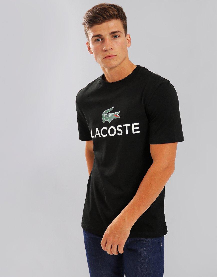 Lacoste Large Logo T-Shirt Black