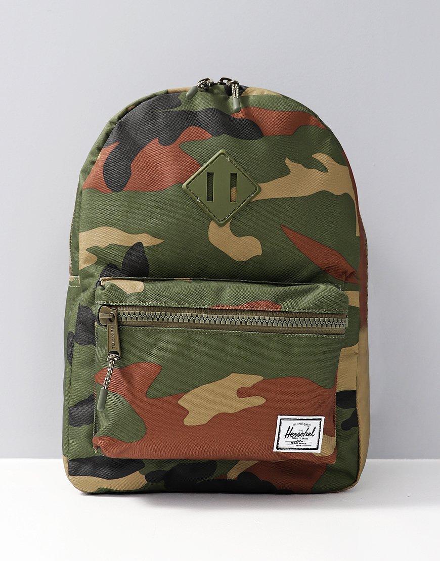 Herschel Kids Heritage Backpack Kids Camo