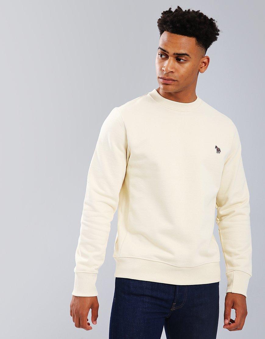 Paul Smith Zebra Logo Sweatshirt  Ivory