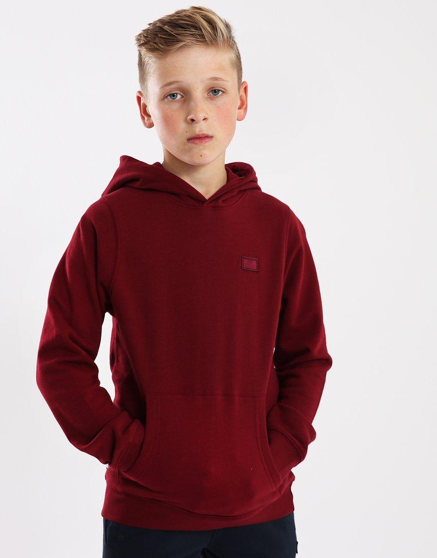 Weekend Offender Kids Radcliffe Overhead Hoodie Garnet Red