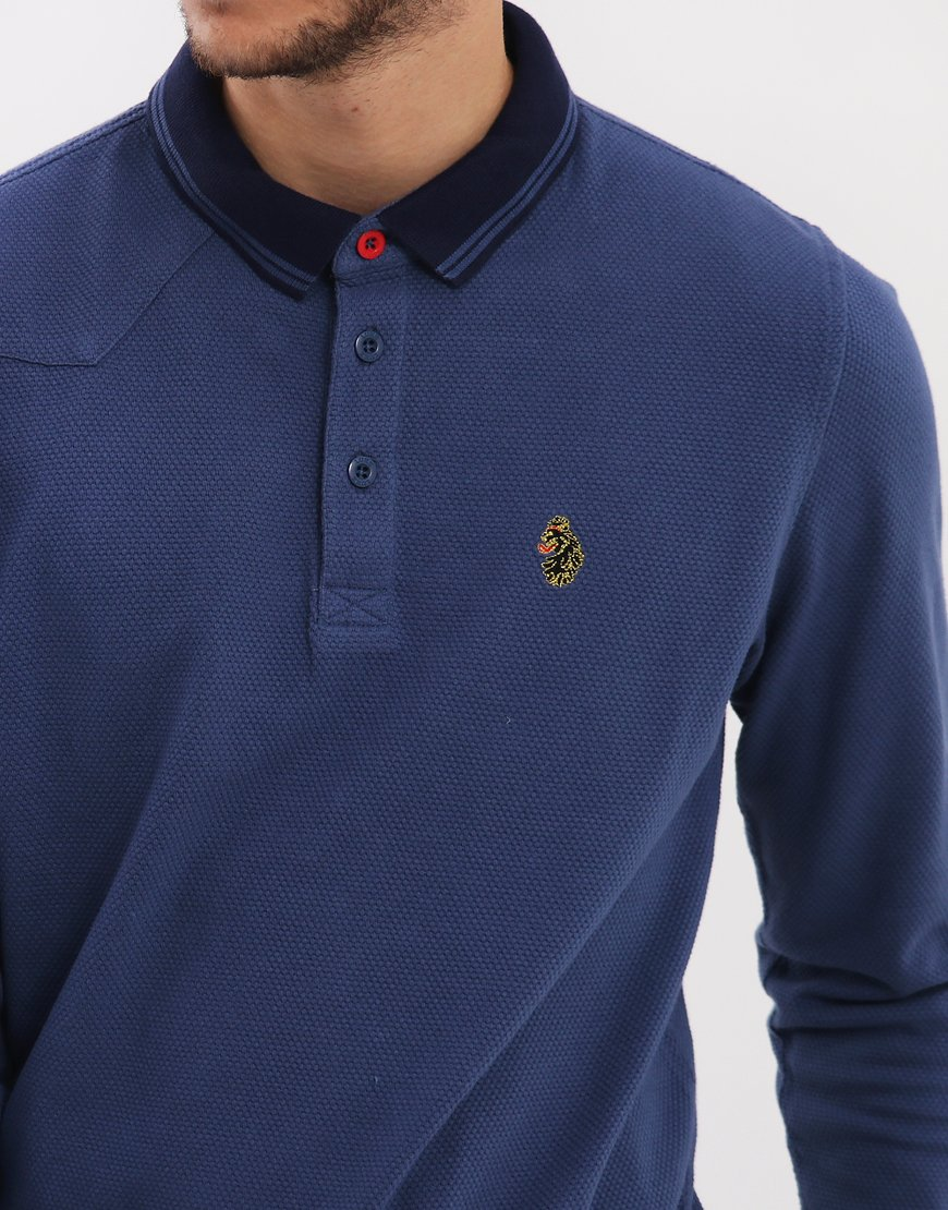 Luke 1977 Long B Boy Polo Shirt Petrol