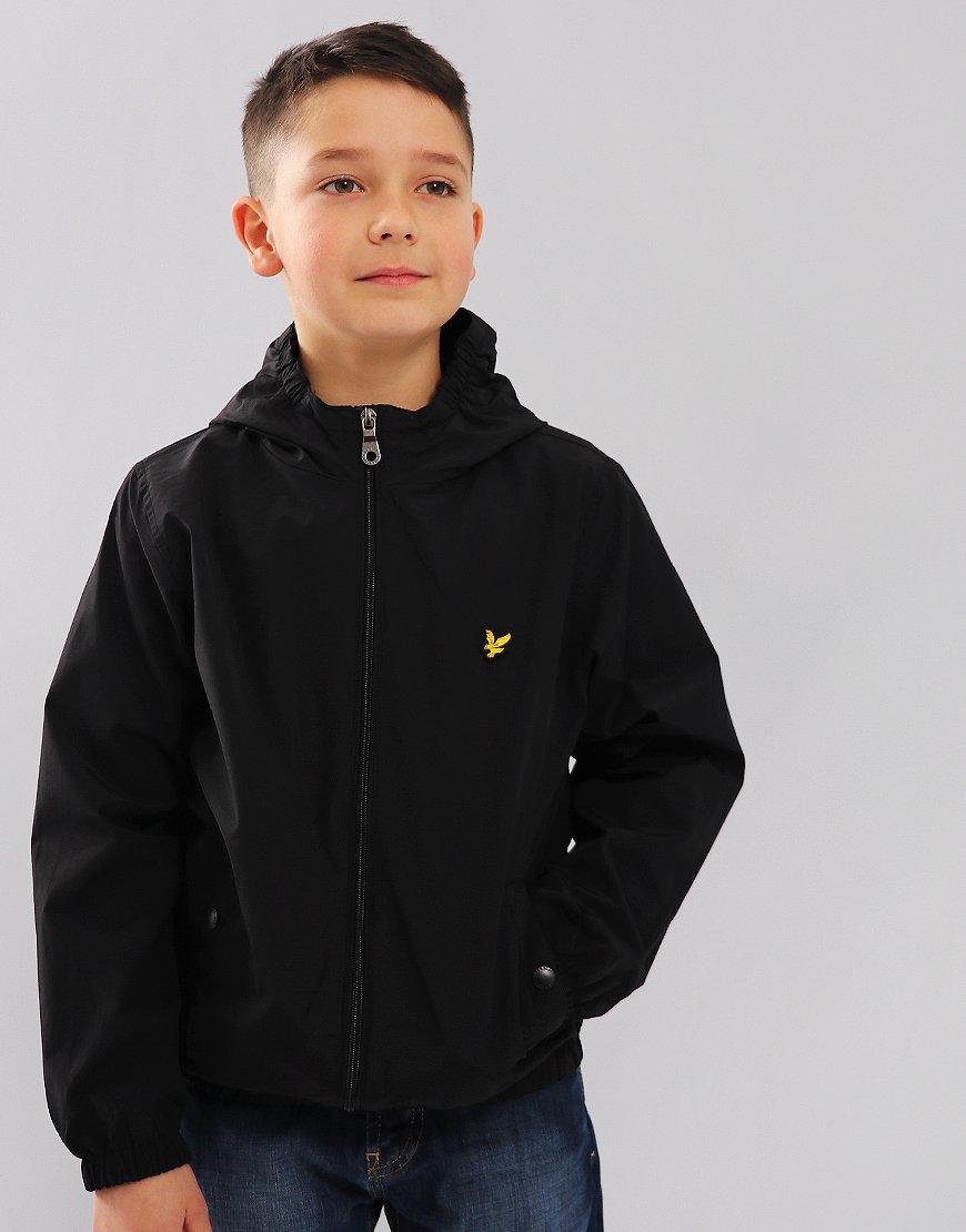 Lyle & Scott Junior Windcheater Jacket Black