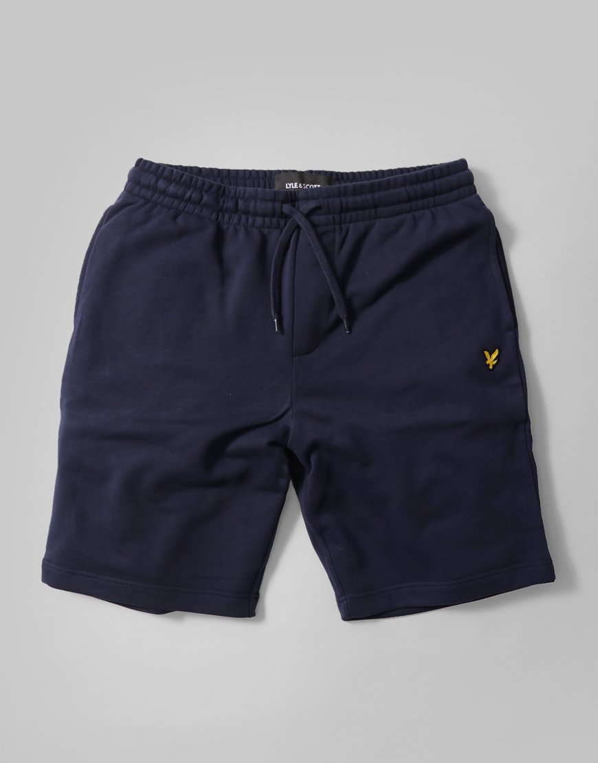 Lyle & Scott Sweat Shorts   Navy