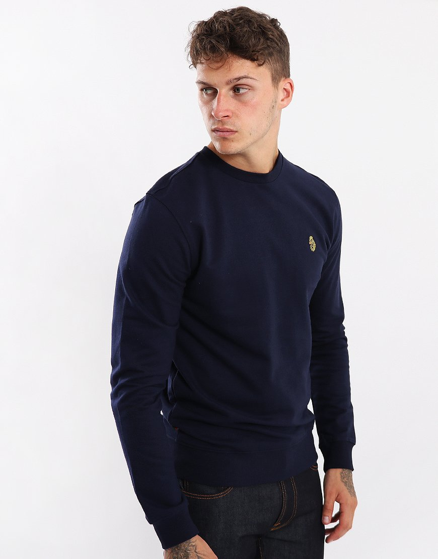 Luke 1977 The Runner Crew Sweat Navy