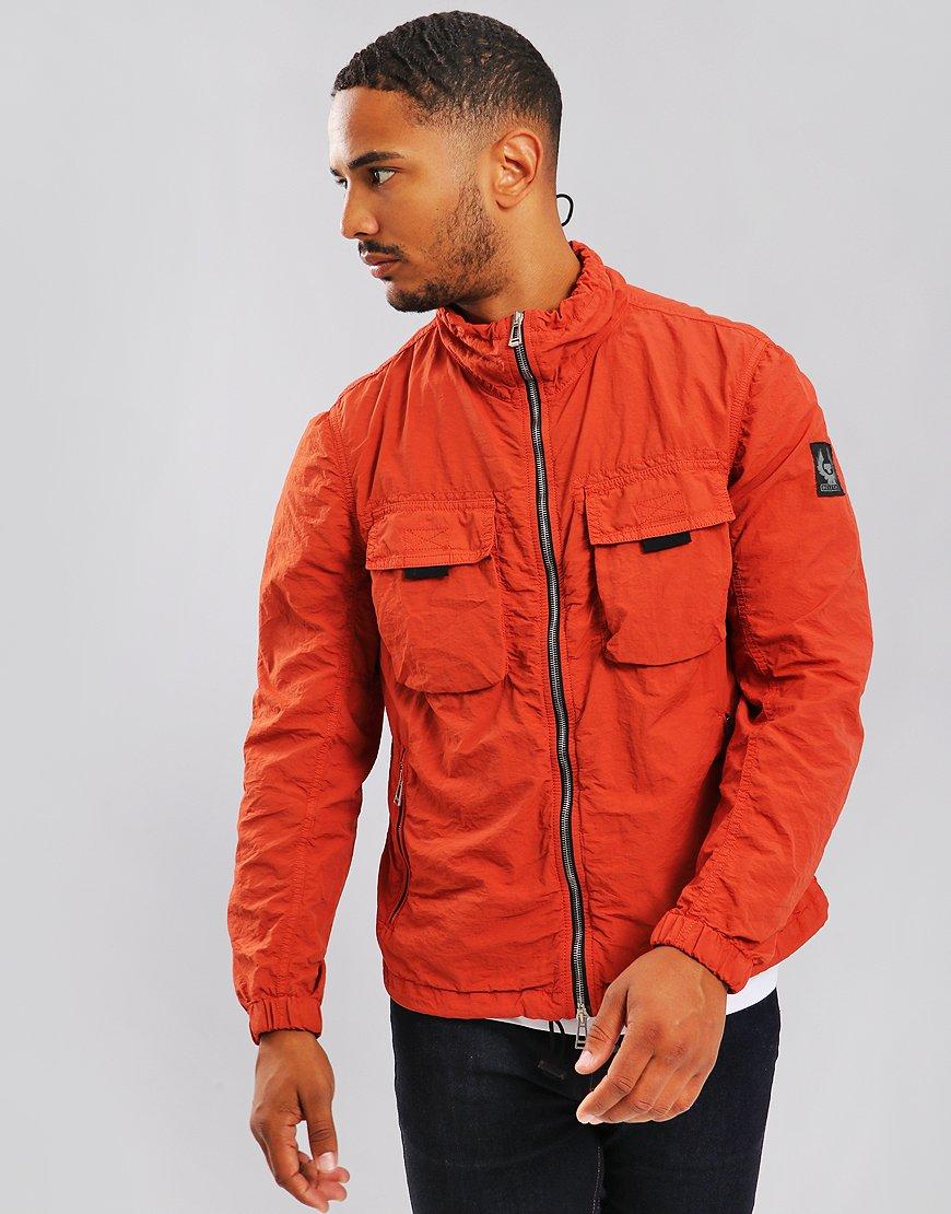 Belstaff Pendeen Jacket Bright Tamarind