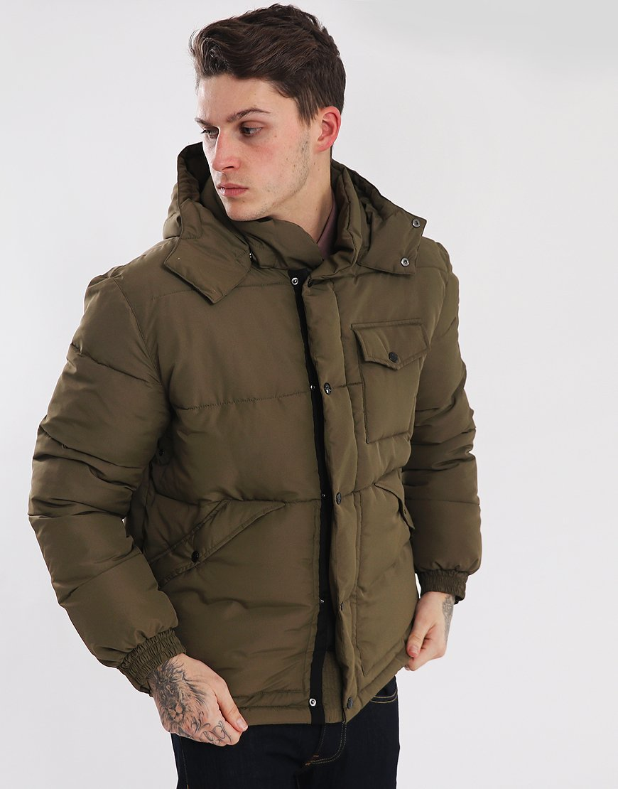 Peaceful Hooligan Birch Padded Jacket Khaki