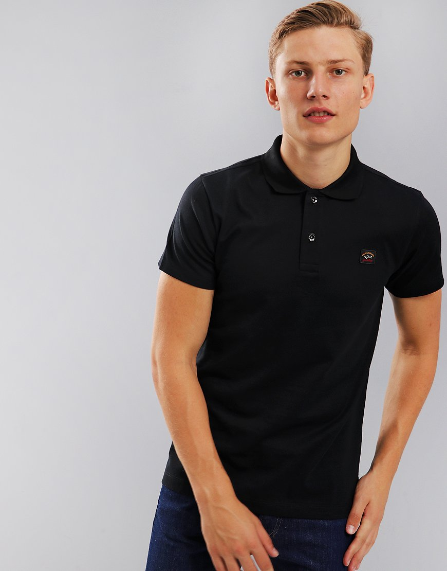 Paul & Shark Polo Shirt   Black