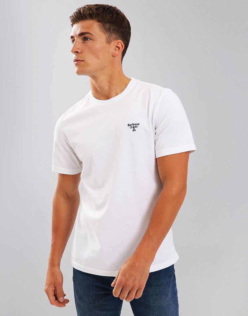Barbour Beacon Logo T-Shirt White