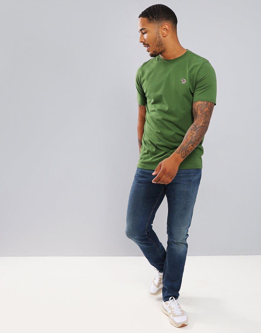 Paul Smith Zebra Logo T-Shirt Light Green
