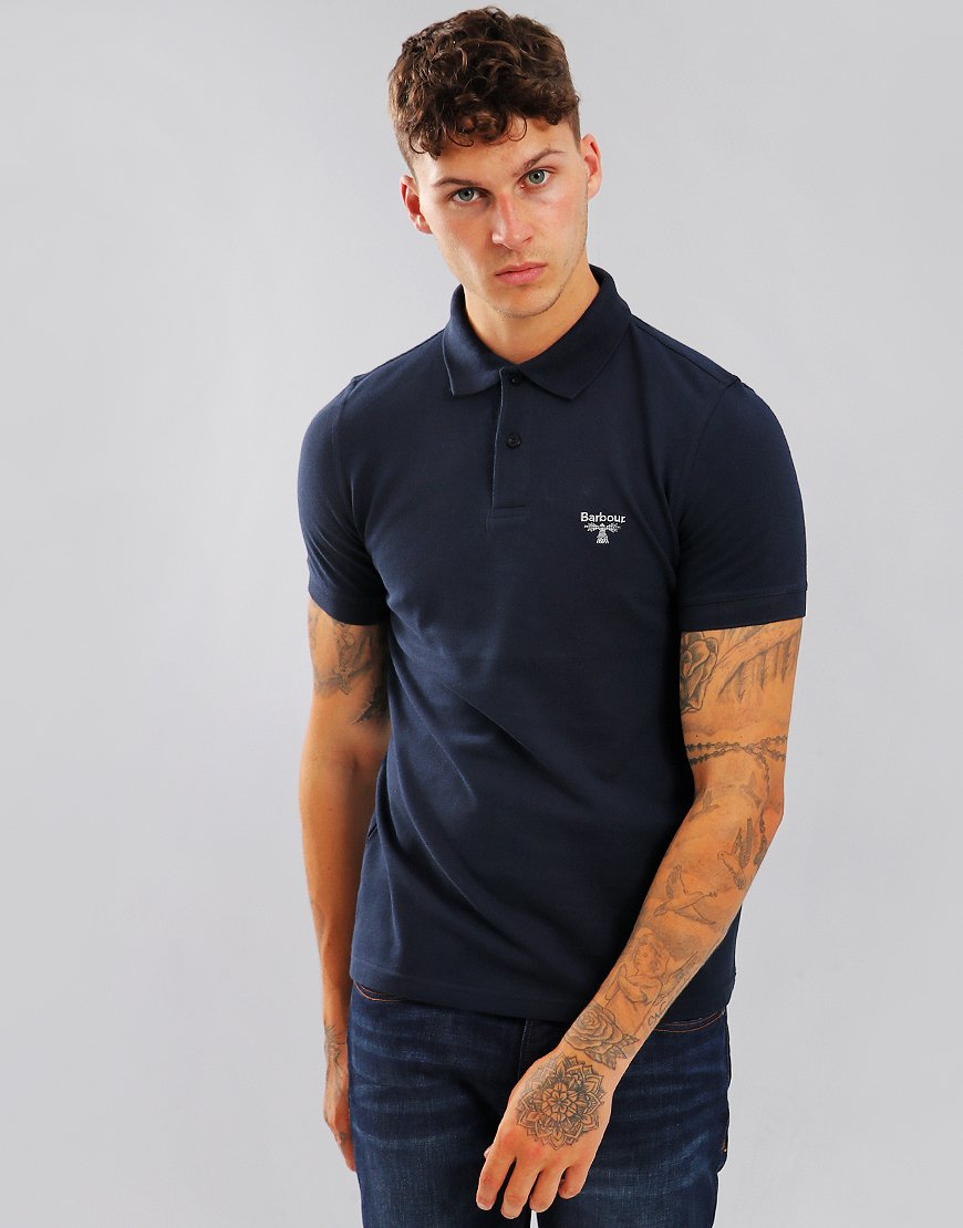 Barbour Beacon Polo Shirt Navy
