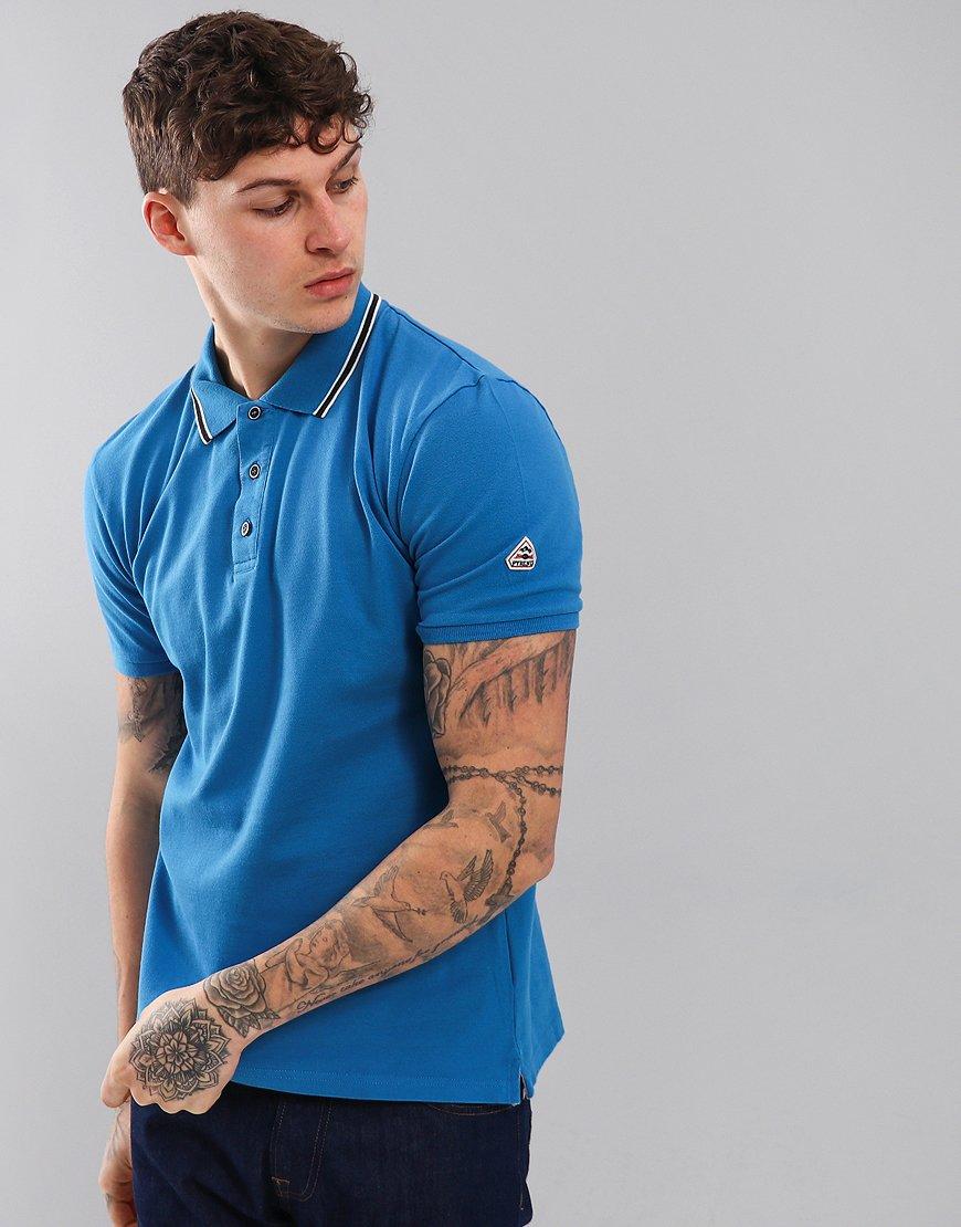 Pyrenex Lionel Polo Shirt Ceruleum Blue