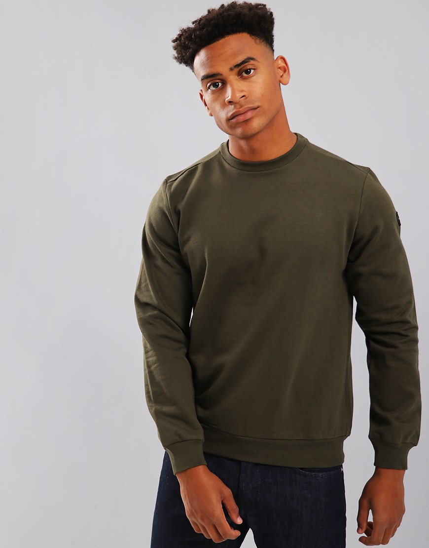 Paul & Shark Crew Neck Sweatshirt Green
