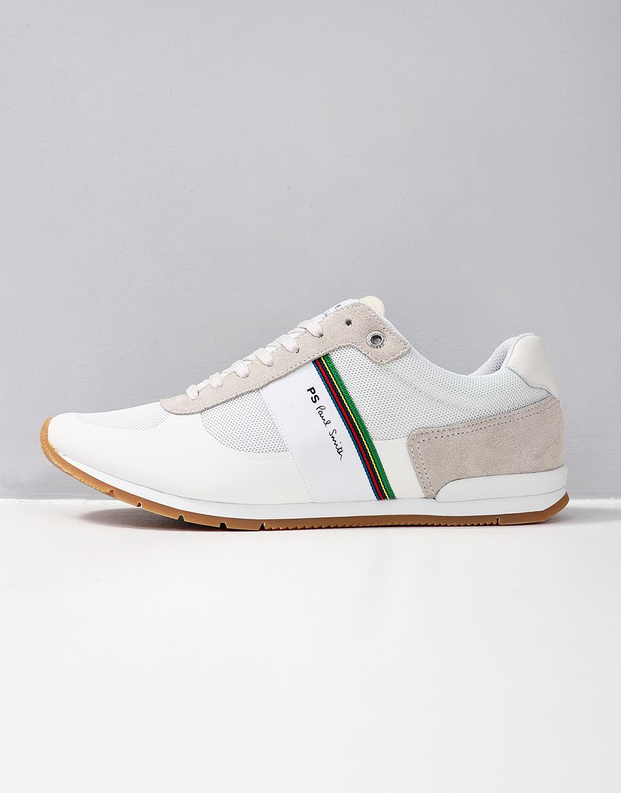 Paul Smith Ericson Cycle Stripe Trainers in White