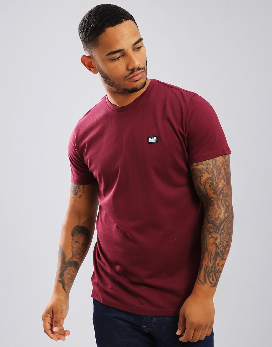 Weekend Offender Kahn T-Shirt Loganberry