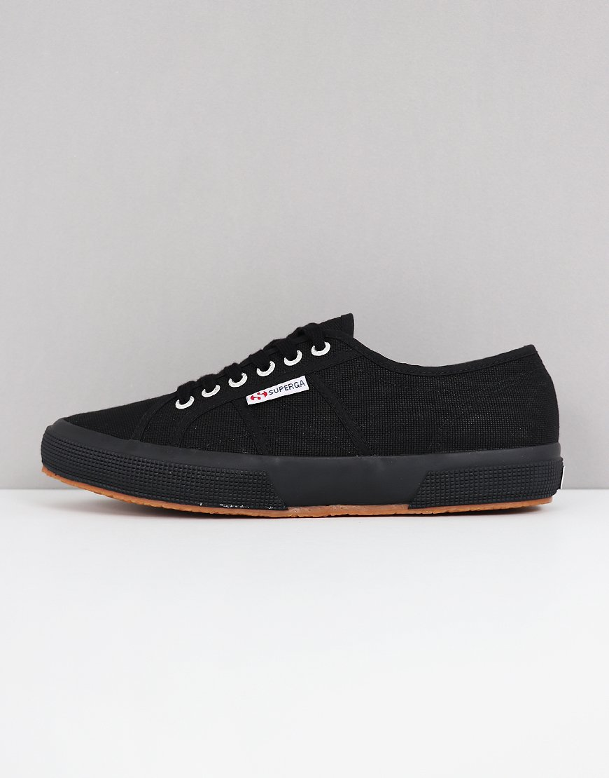 Superga Cotu Classic 2750 Canvas Trainers Full Black