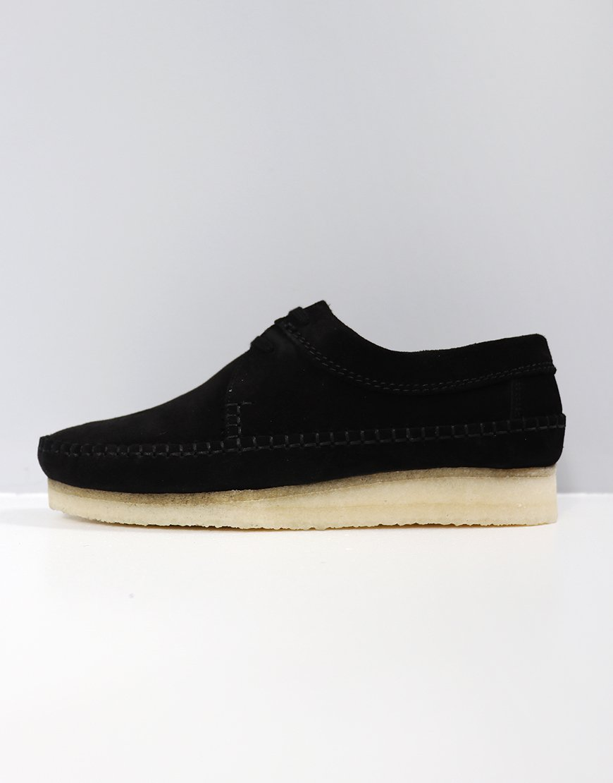 Clarks Originals Weaver Black Suede