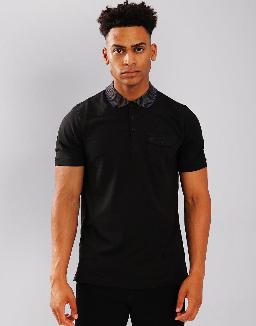 Luke 1977 Landbrights Polo Shirt Black