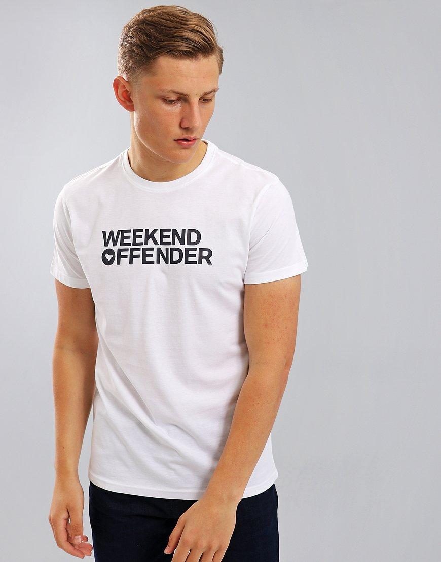 Weekend Offender Godin T-Shirt White