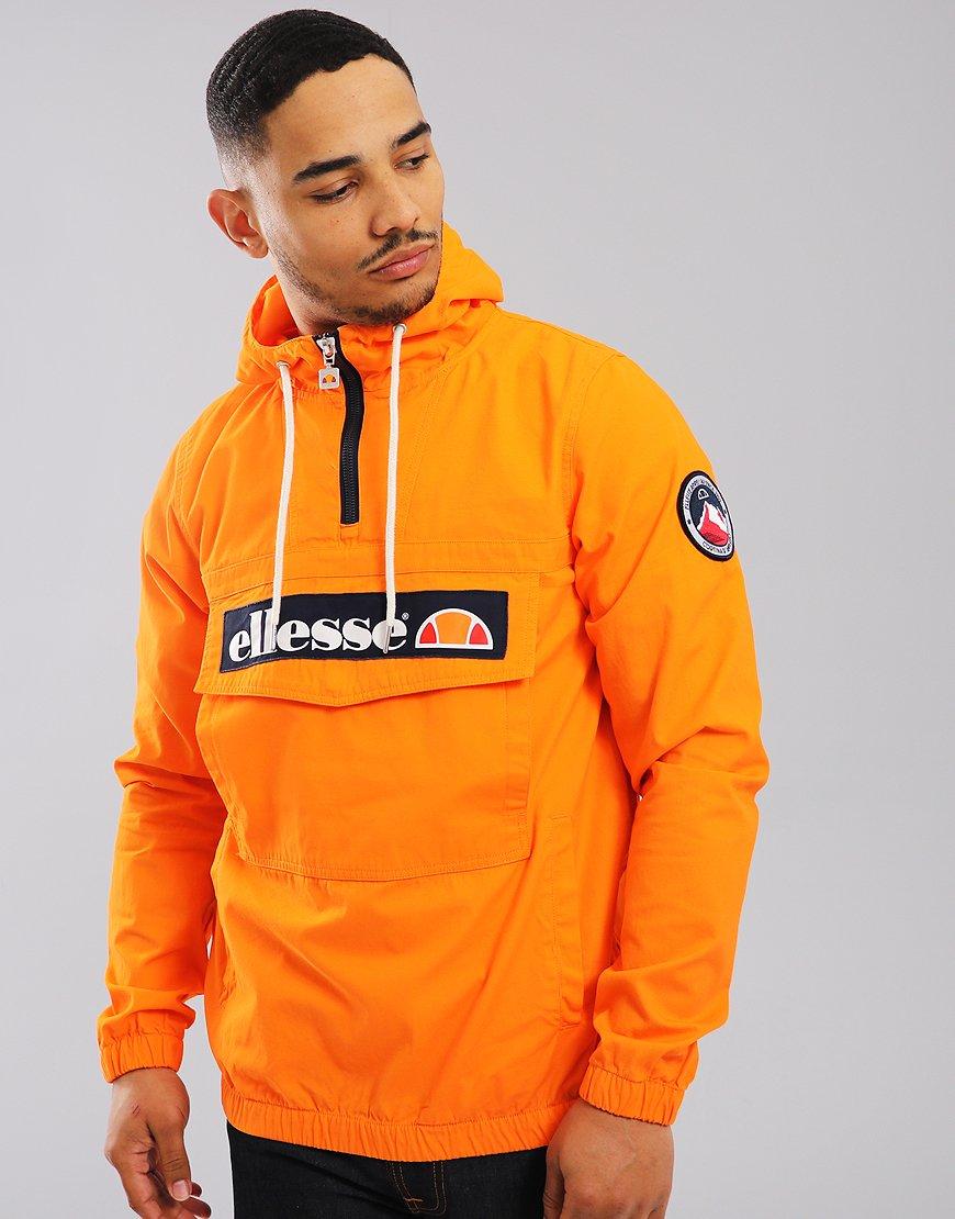 Ellesse Mont Half-Zip Jacket Orange