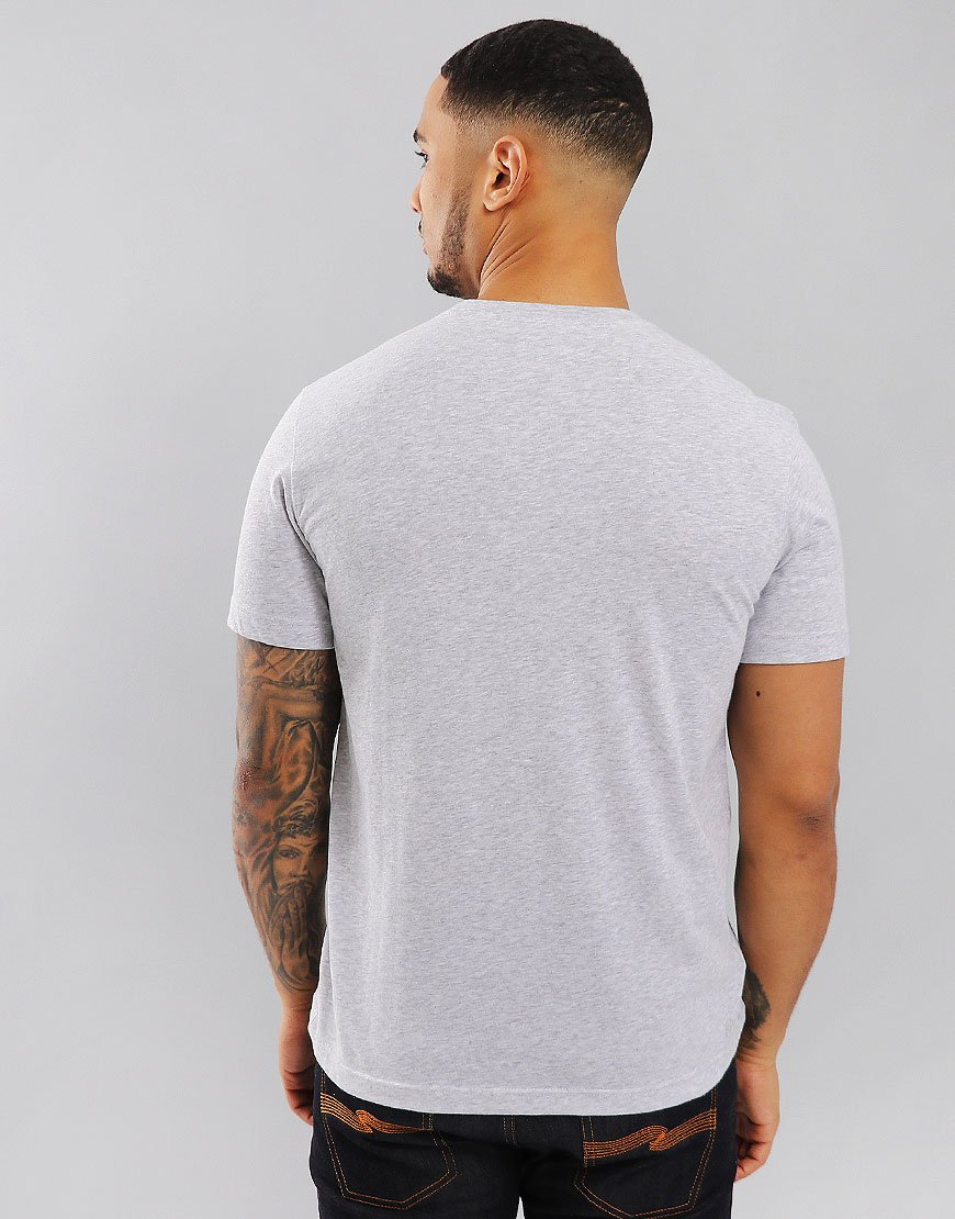 Lacoste SPORT Plain T-Shirt Silver Chine