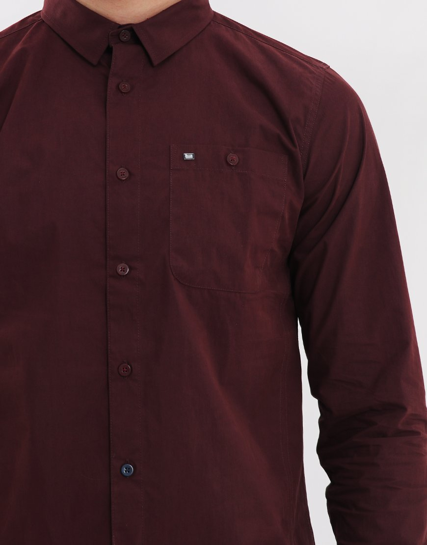 Weekend Offender Meers Shirt Syrah