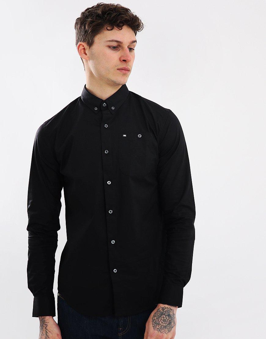 Weekend Offender Sheen Shirt Black