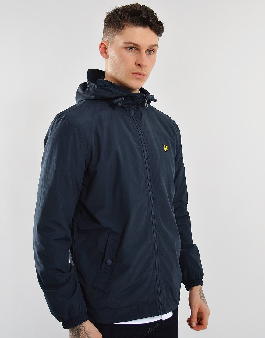 Lyle & Scott Hooded Jacket Navy