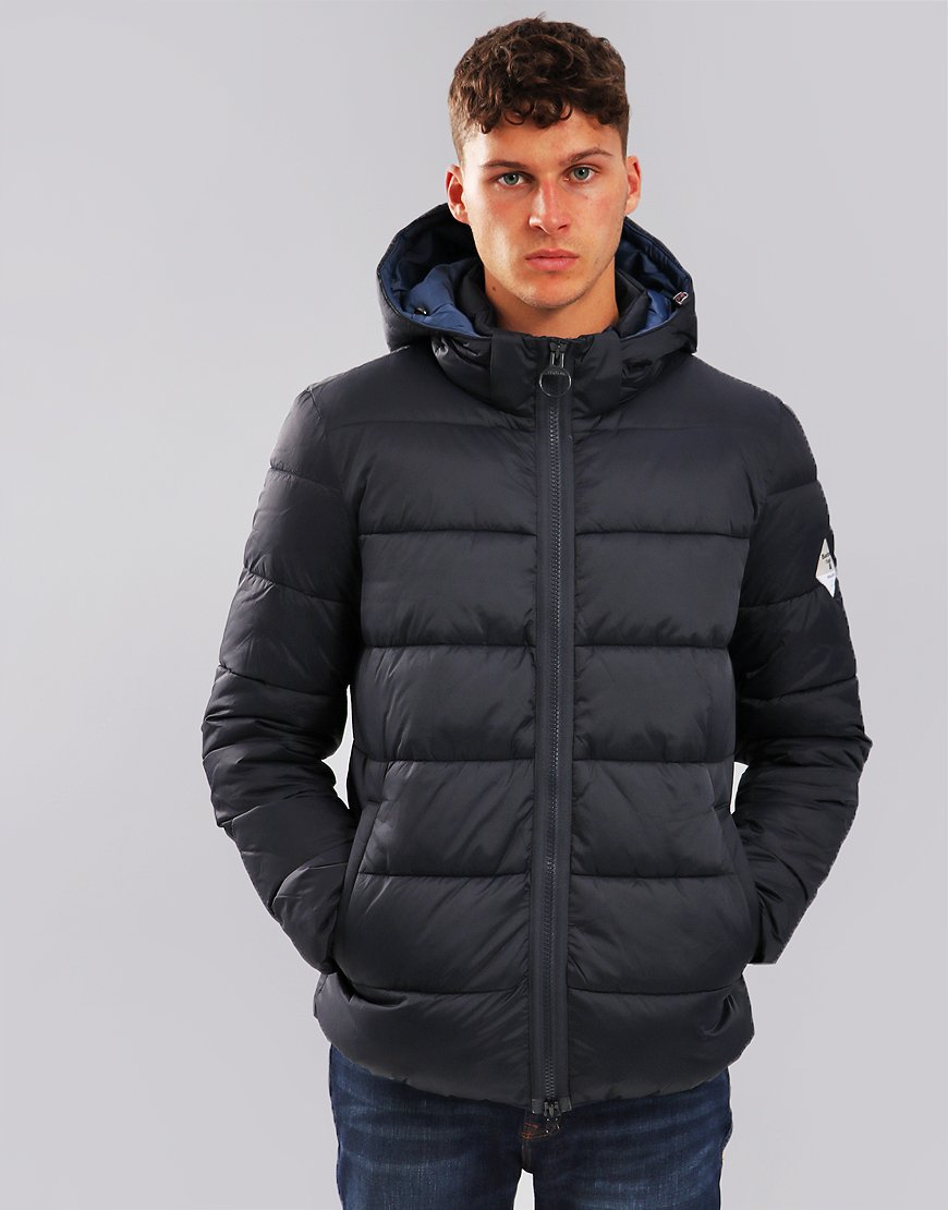 Barbour Beacon Hike Quilt Jacket Navy