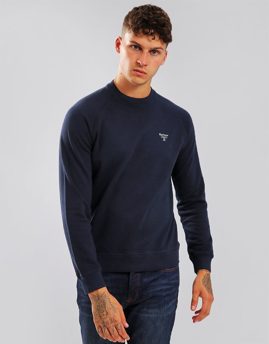 Barbour Beacon Crew Sweat Navy