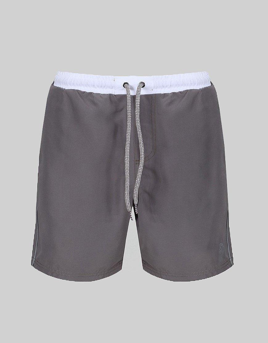 Luke 1977 Boxer Sport Swim Shorts Grey