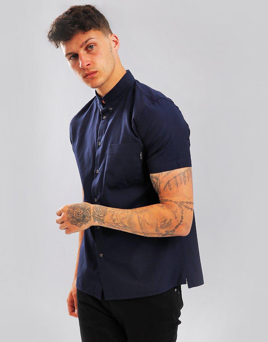 Paul Smith Short Sleeved Shirt Inky