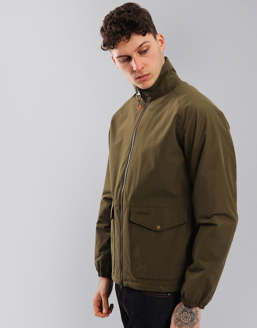Barbour Dee Jacket Army Green