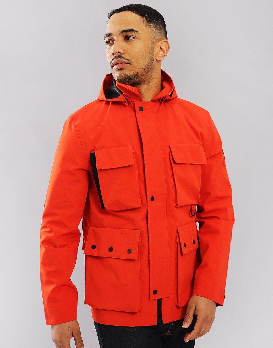 Marshall Artist 3L Bonded Field Jacket Red