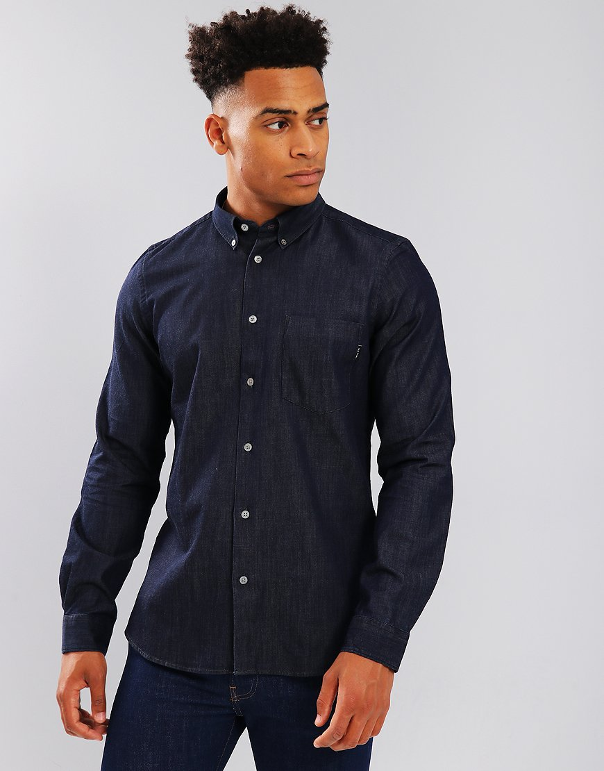 Paul Smith Rinsed Shirt Navy