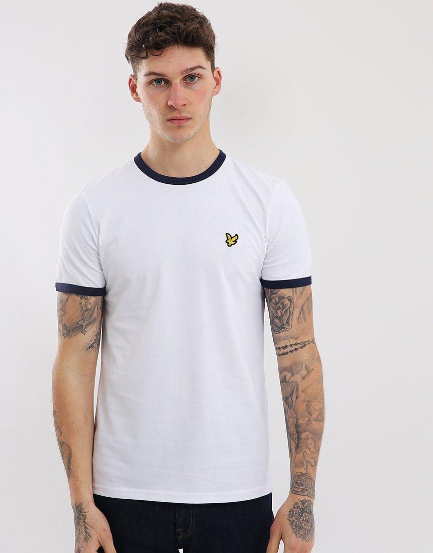 Lyle & Scott Ringer T-Shirt White