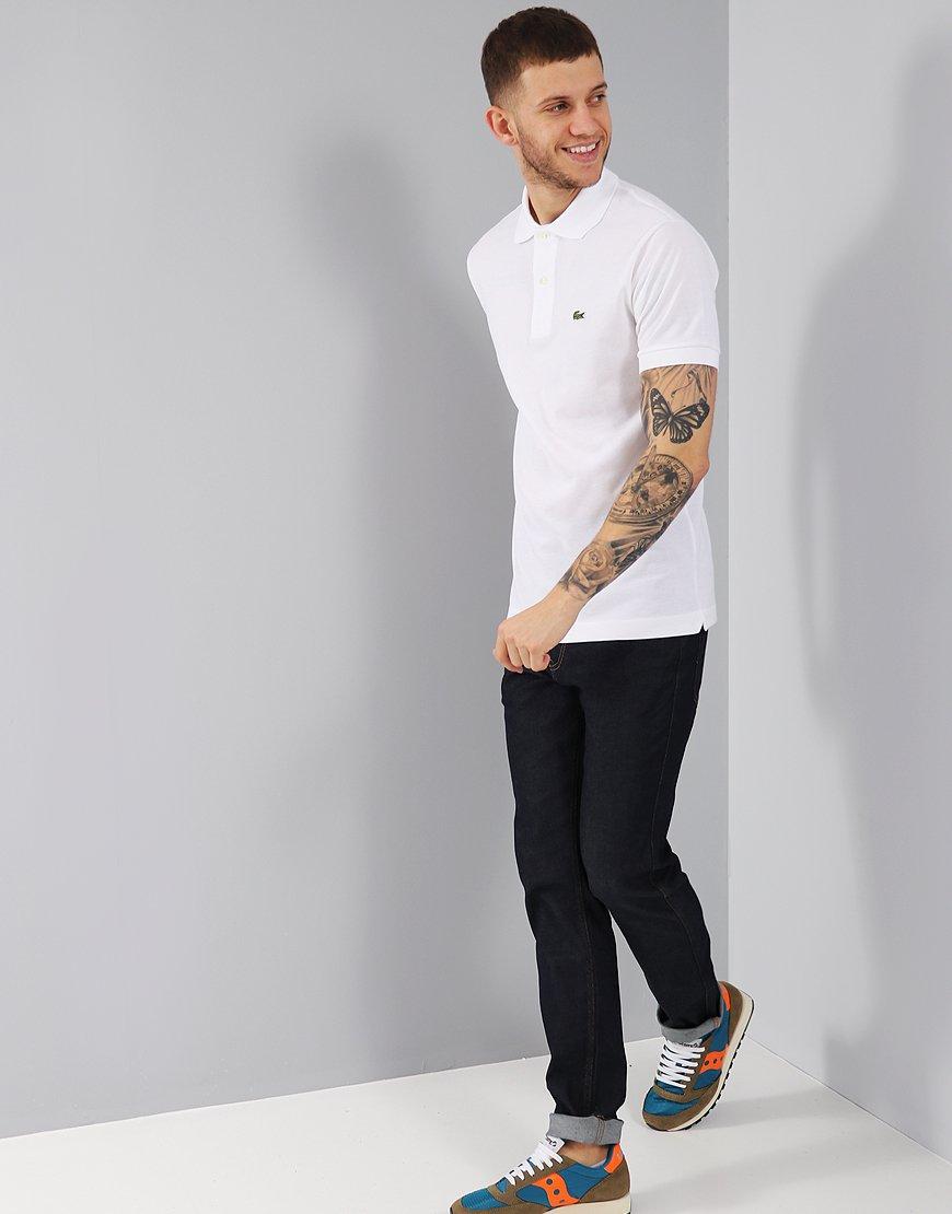 Lacoste L1212 Polo Shirt White