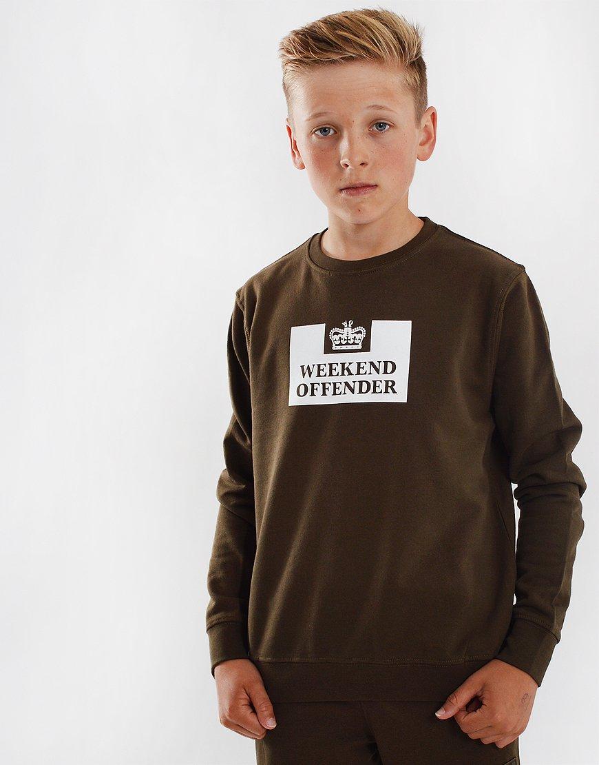 Weekend Offender Kids Penitentiary Sweat Uniform